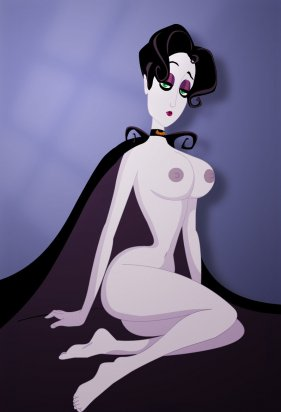 Nude singer Mona De Lafitte from A Vampyre Story