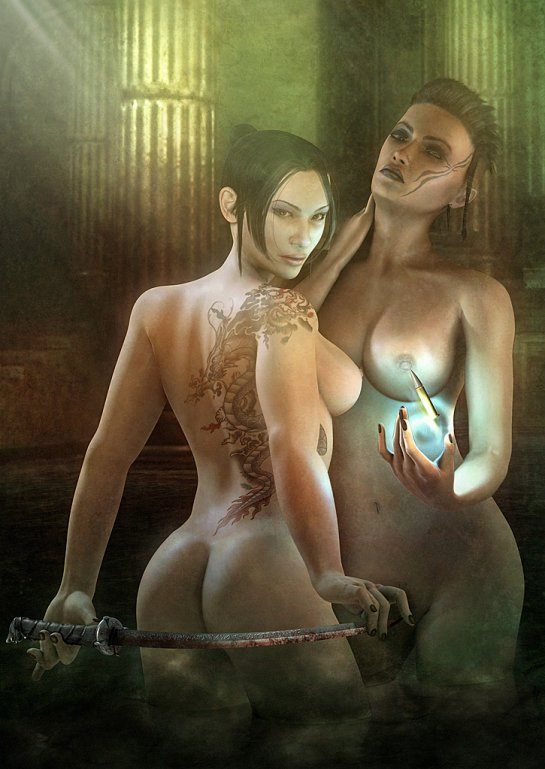 Barker nude