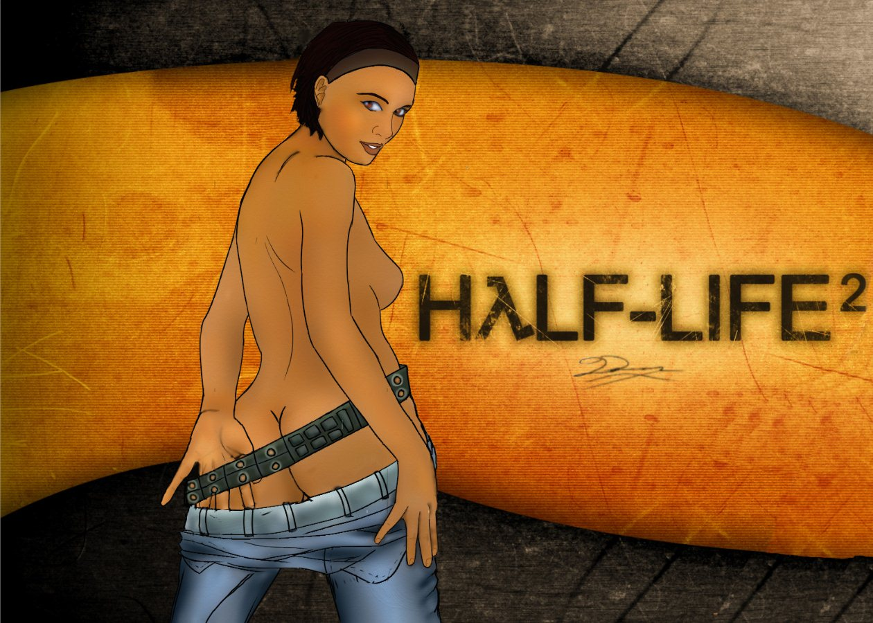 Alex from half life sex nude scene