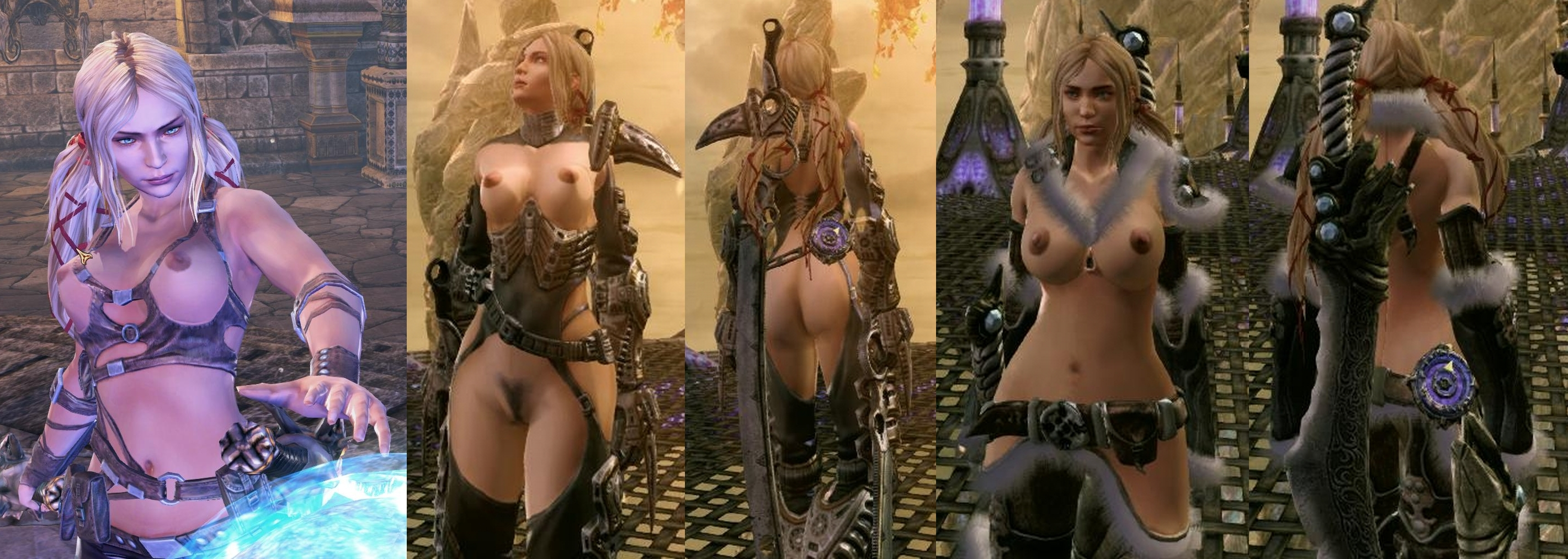 Girl characters in video games naked sex video