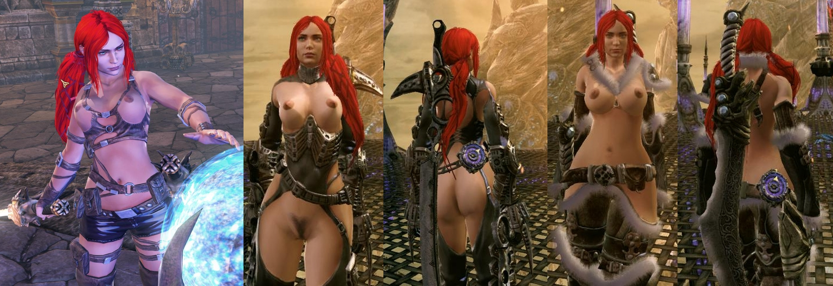 Brutal legend nude mod pornos video