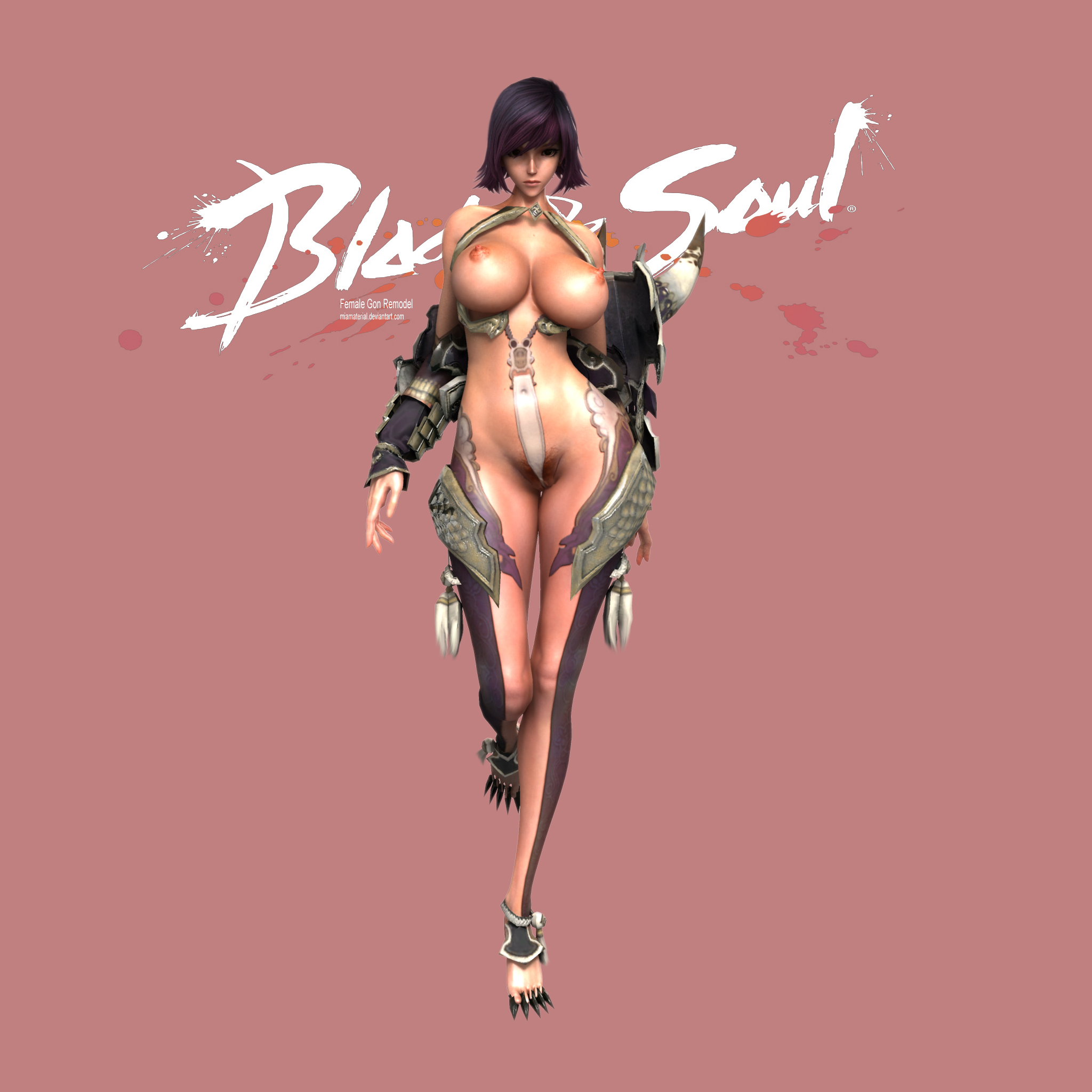 Blade and soul nude mod character creation 4