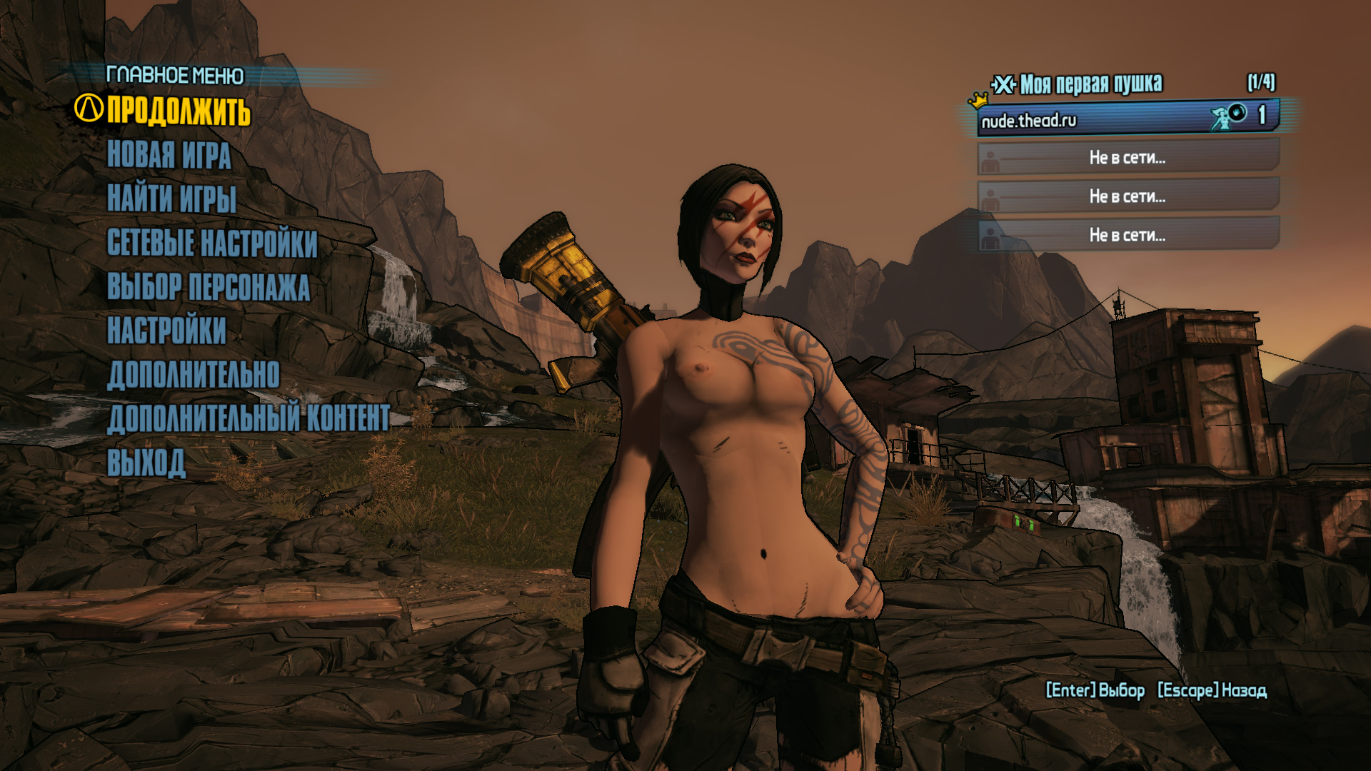 Borderlands 2 sexy maya mod nude movie