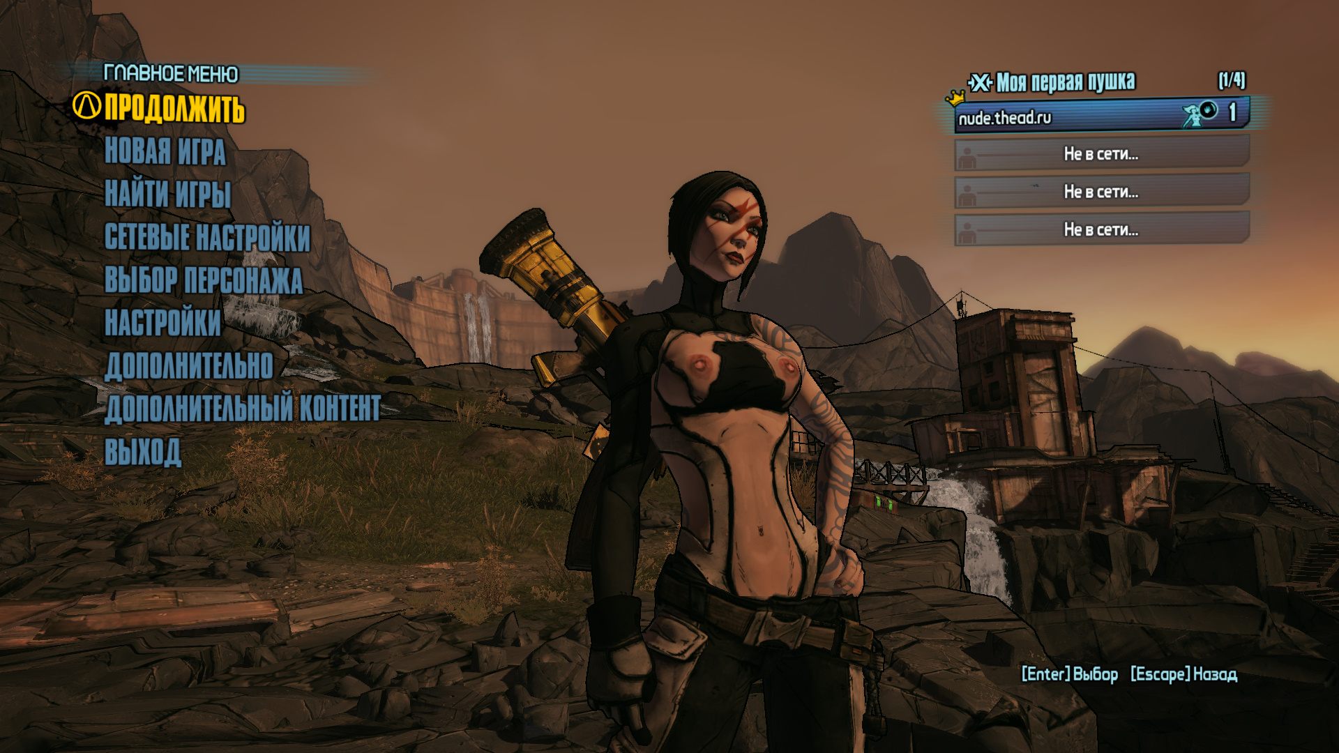 Borderlands 1 nude patch sex video