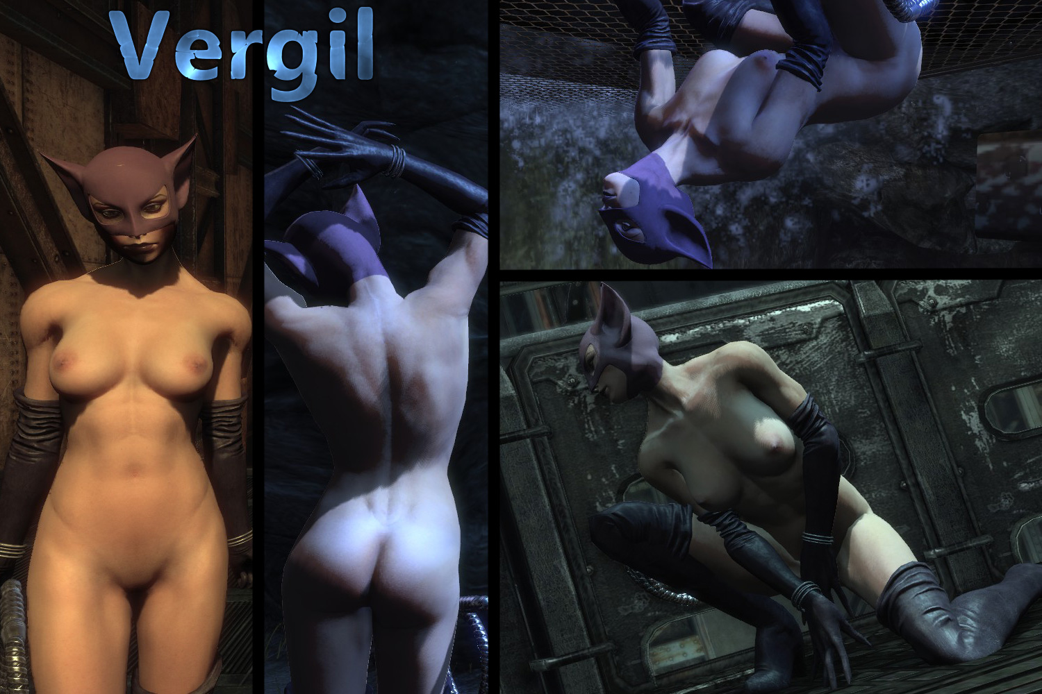 Batman arkham city naked women mod xxx movie