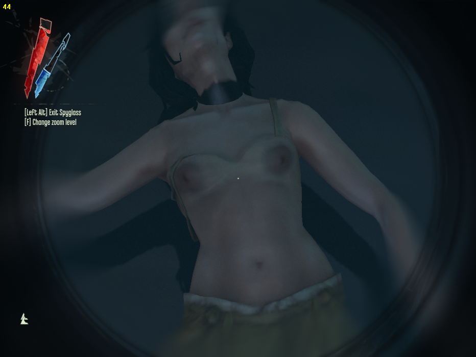 nude Dishonored mod game