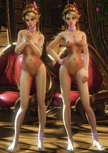 фото принцессы голые