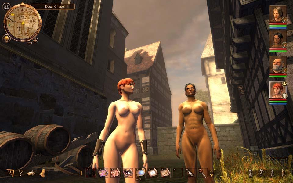Голые персонажи из игр