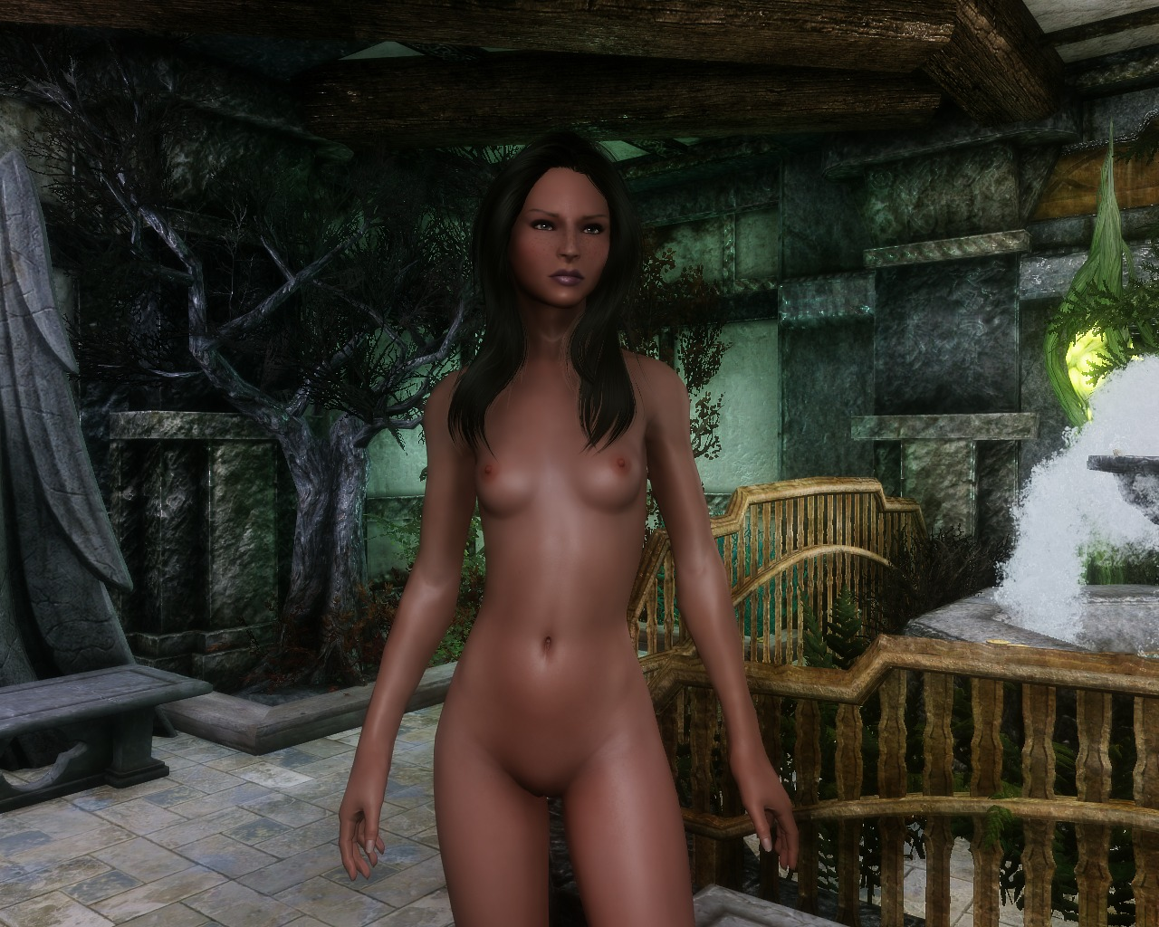Skyrim nude heroine sex video
