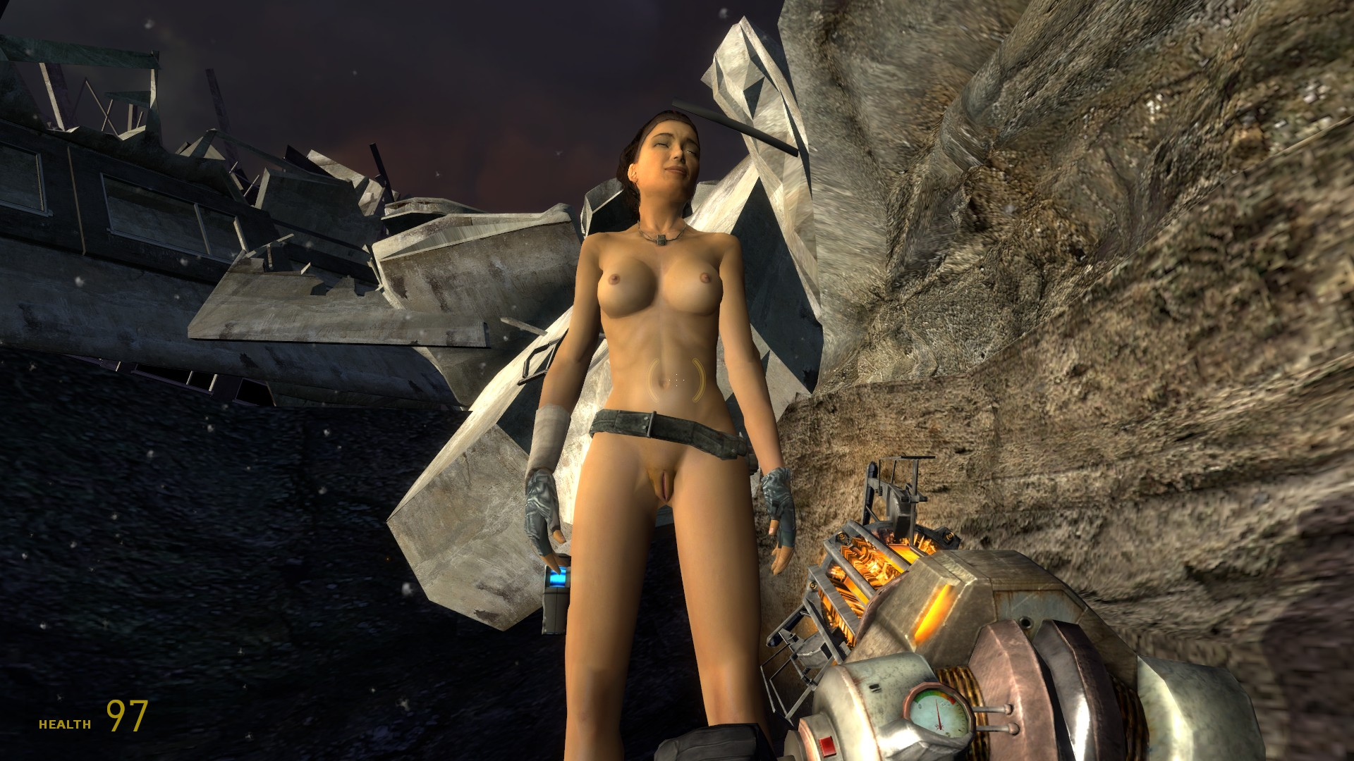 Alyx nude half life 2 episode one