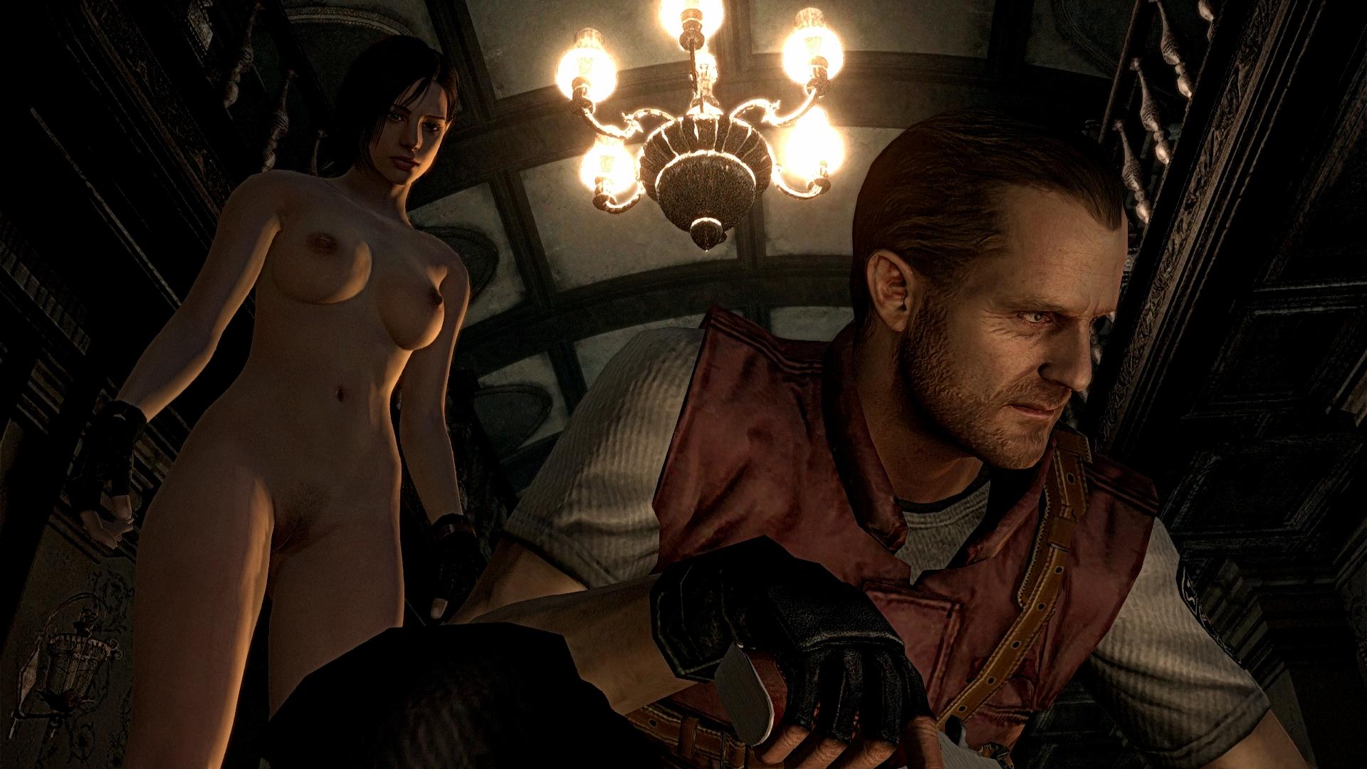 Resident evil 4 ps3 nude mod porn scenes