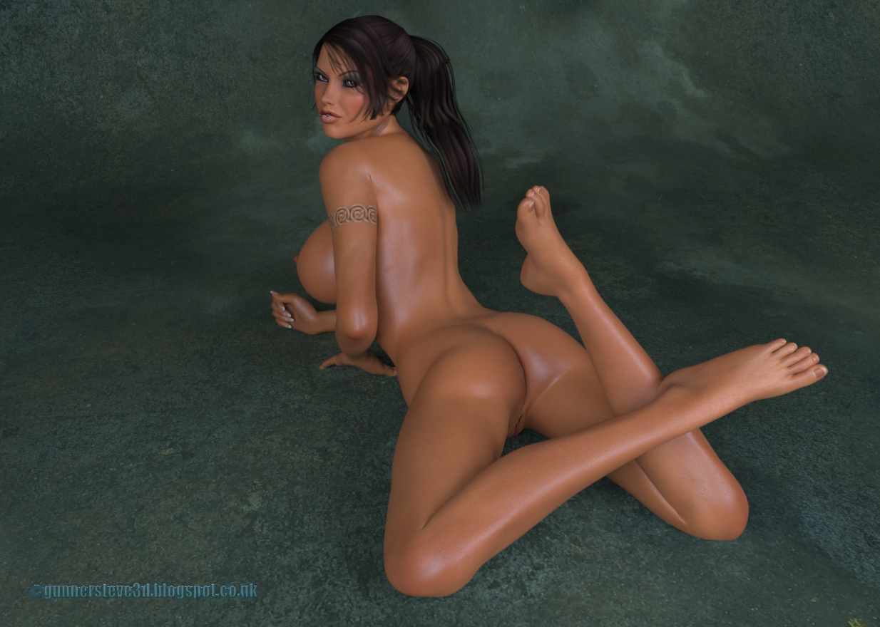 Can not lara croft naked vag