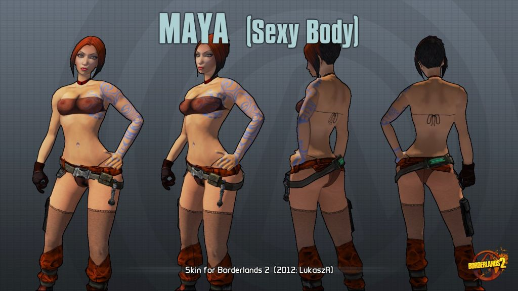 Borderlands 2 maya nude