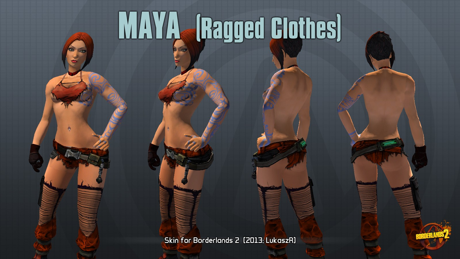 Borderlands 2 sexy maya mod erotic comics