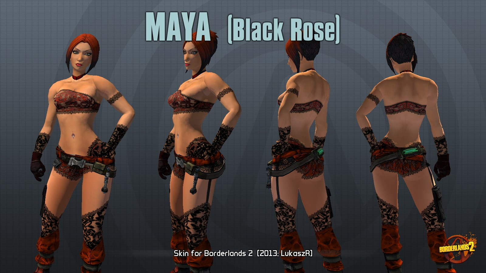 Borderlands 2 sexy maya mod sex picture