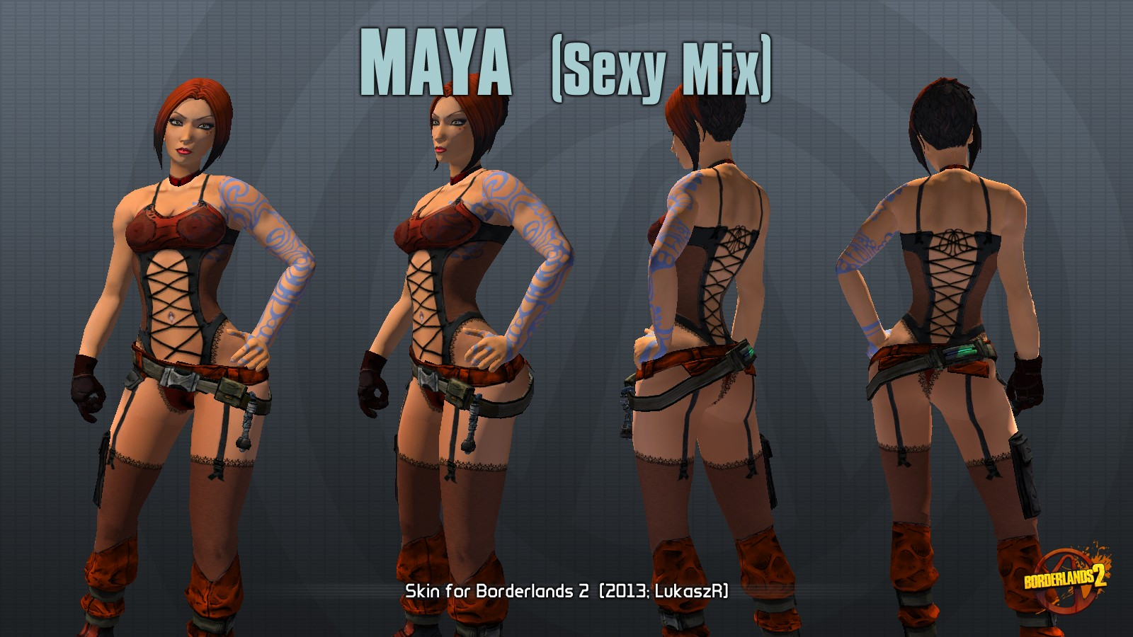 Borderlands 1 nude patch nsfw pornstar