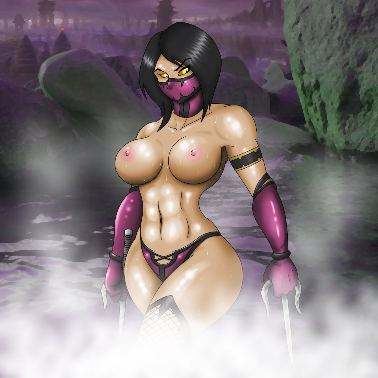 Mileena naked softcore photo