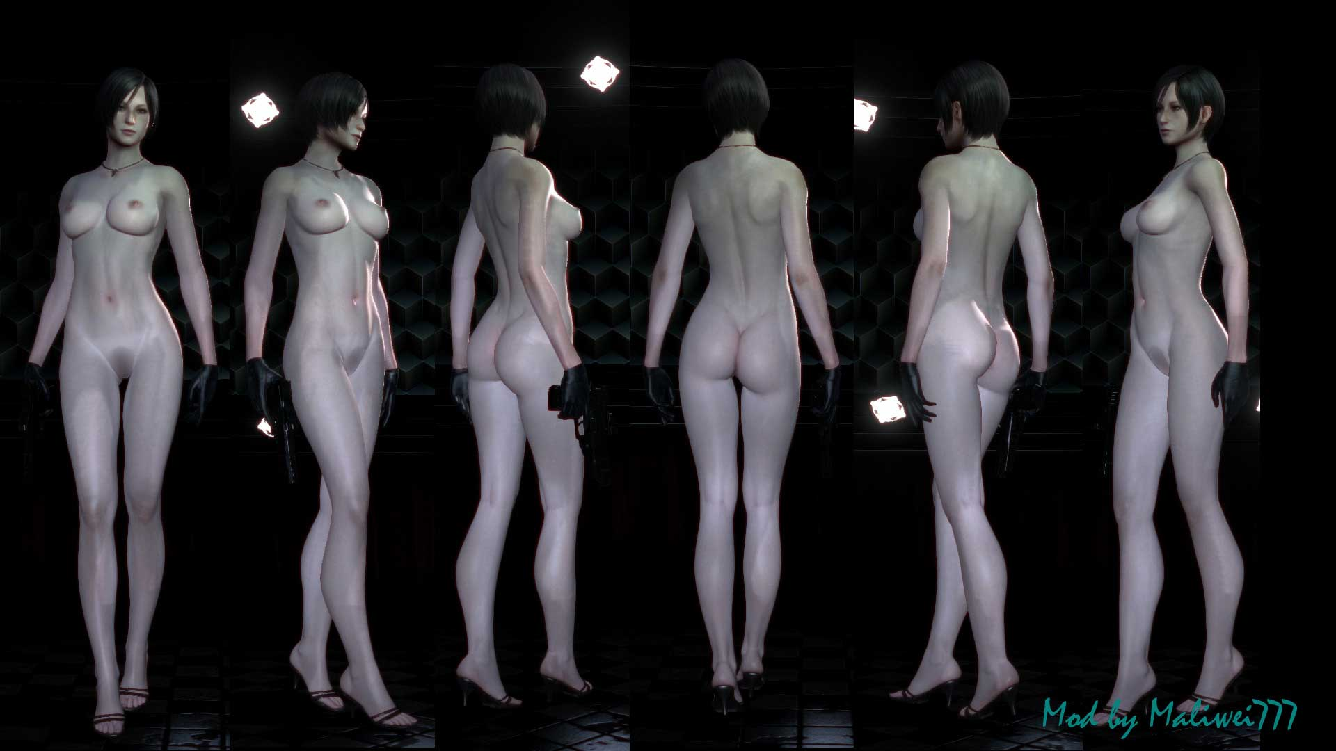 Resident evil all parts nude mod rar sexy pictures