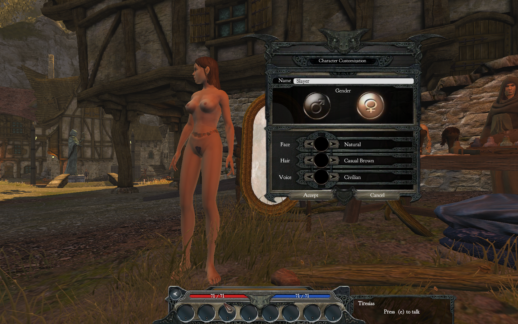 Nude mod download for oblivion hentia videos
