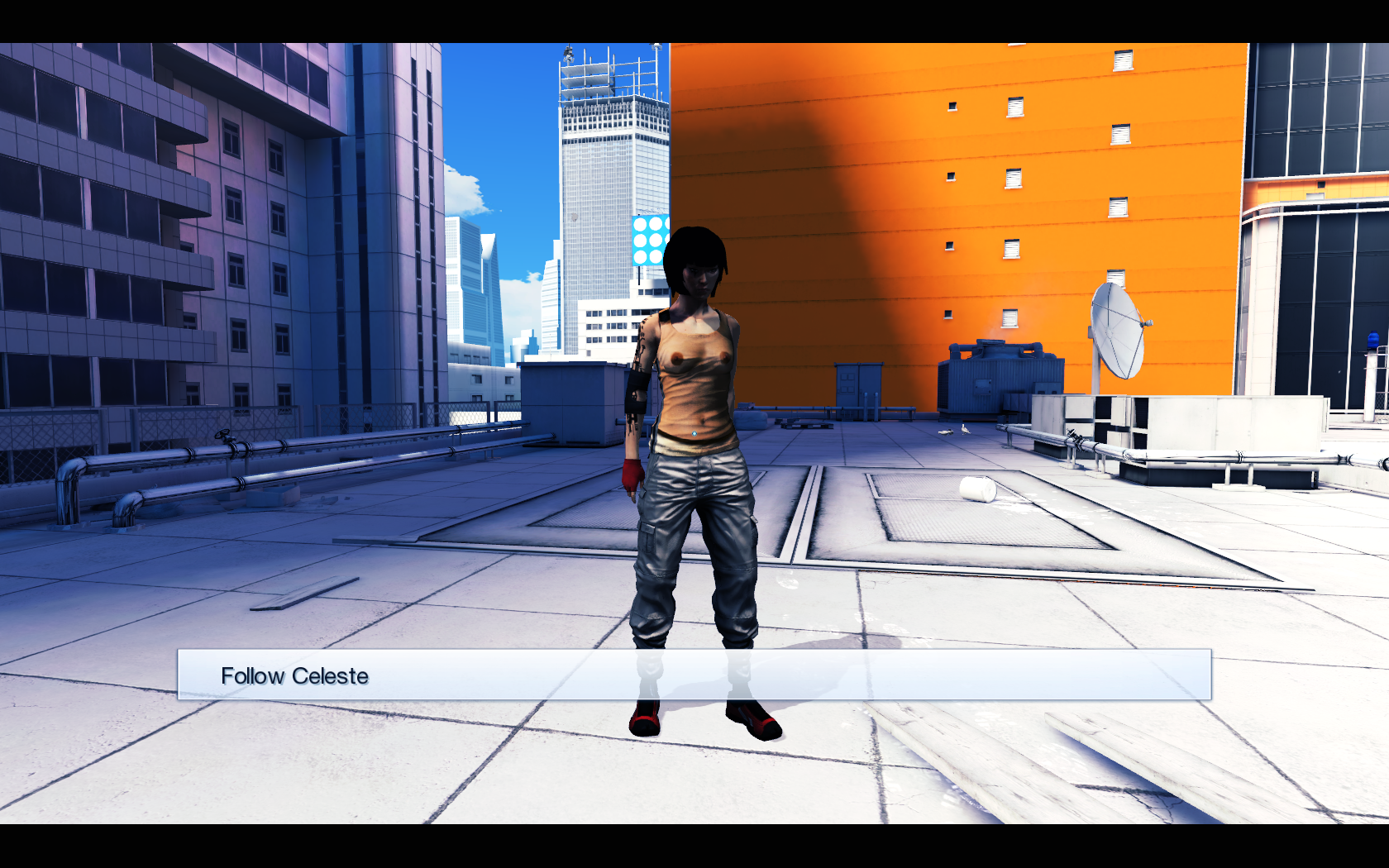 Mirrors edge nude patch sexual comics