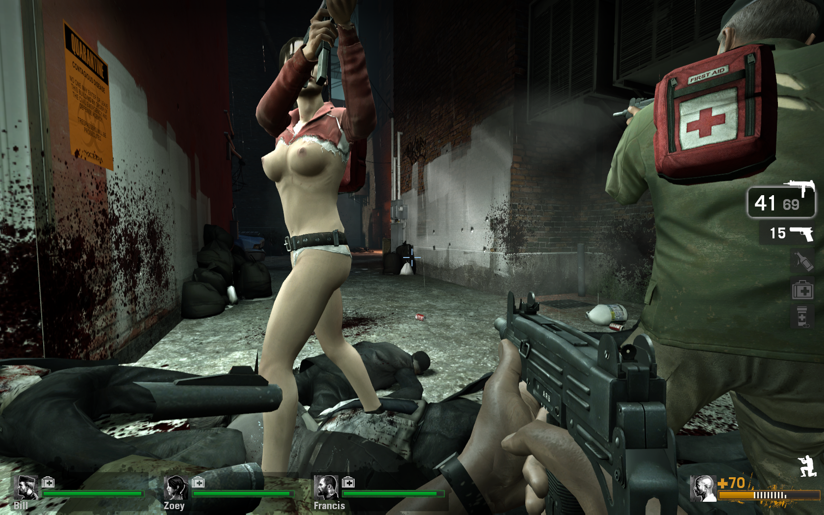 Left 4 dead nude mod cartoon pic