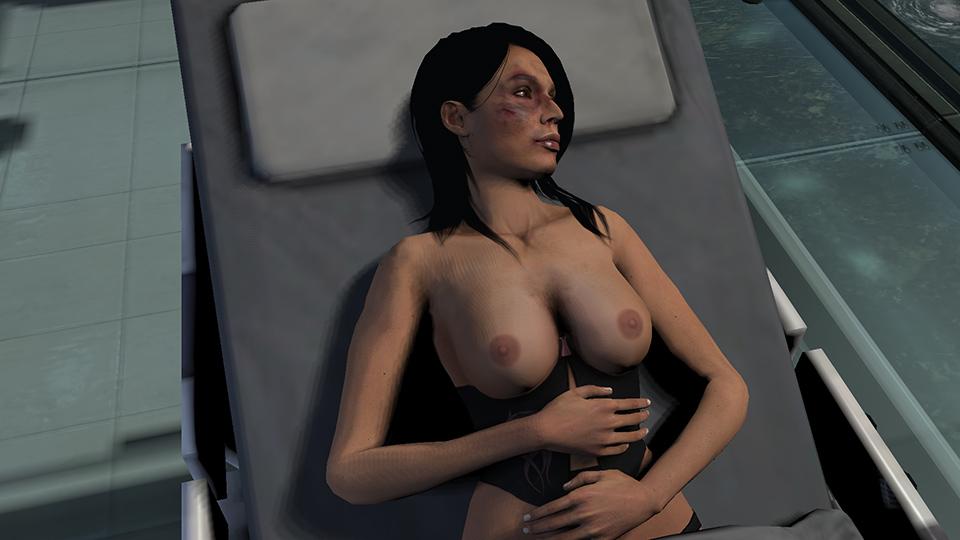 Секс в масс эффект абсолютно голые