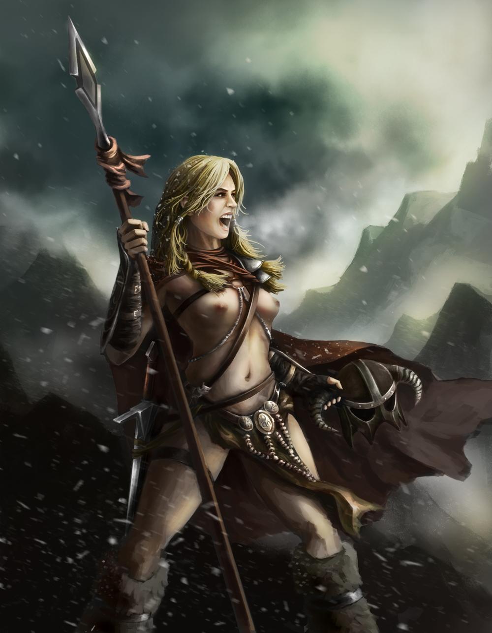 Elder scrolls erotic fantasy sex image