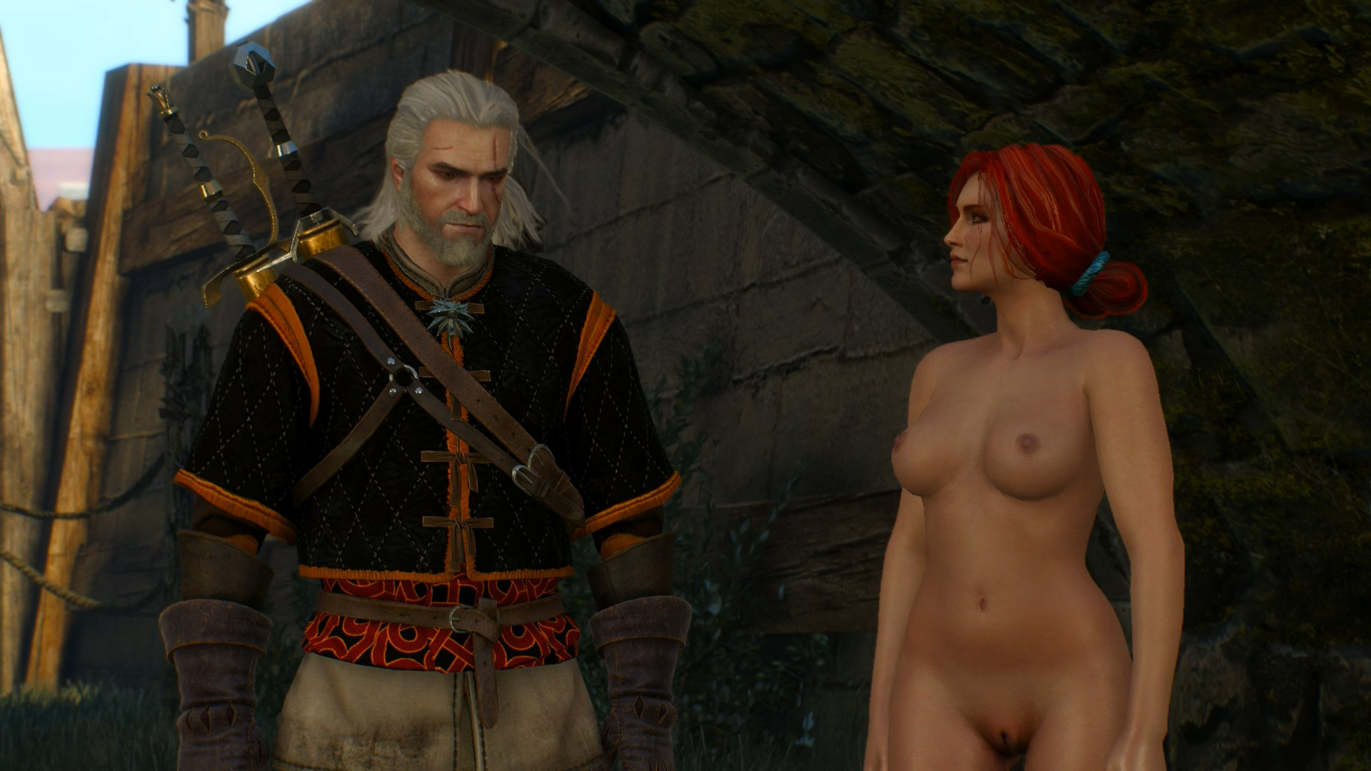 The witcher nude skins, anal balloon pump video
