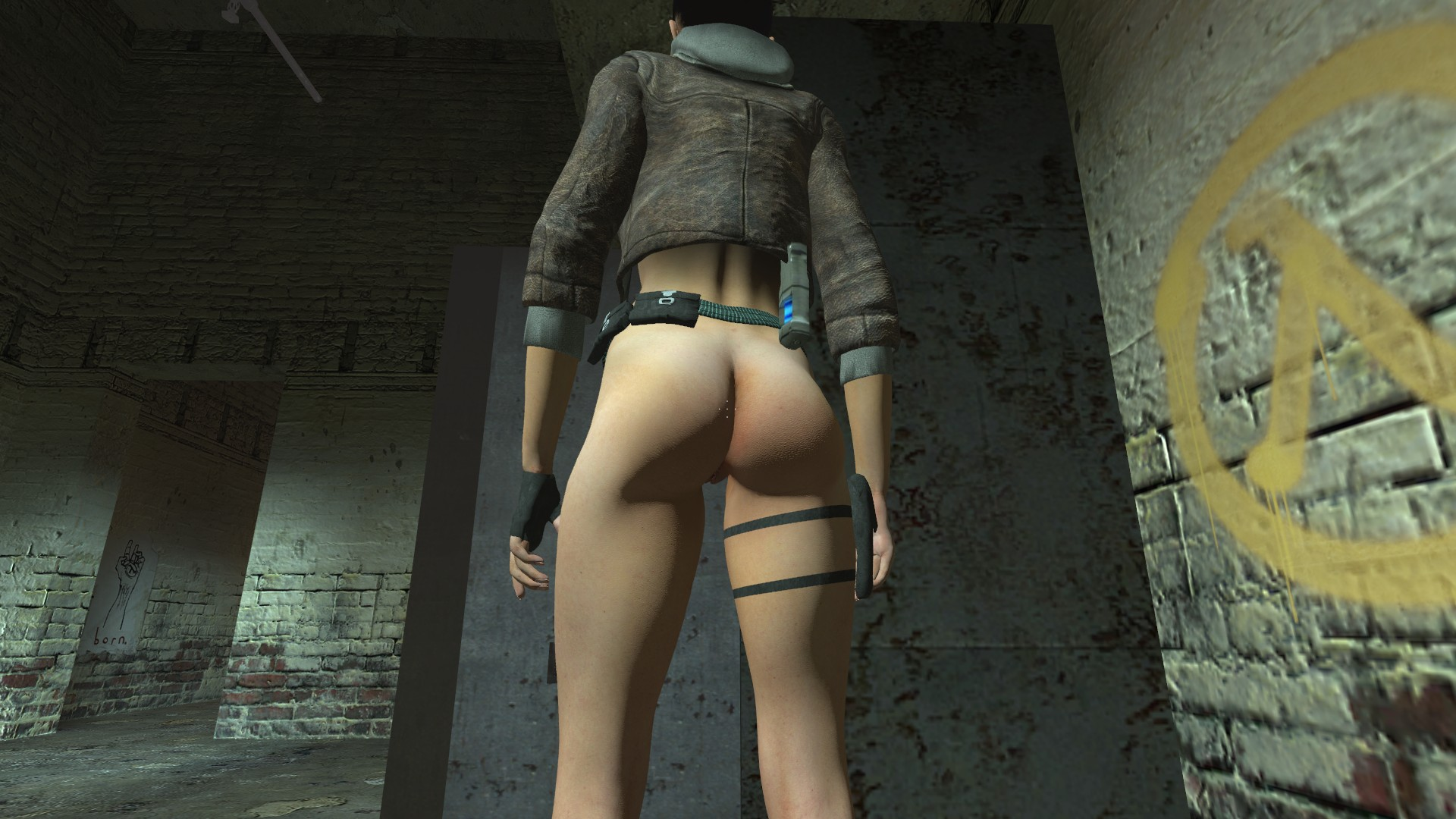 Alyx from hl2 nude sex picture