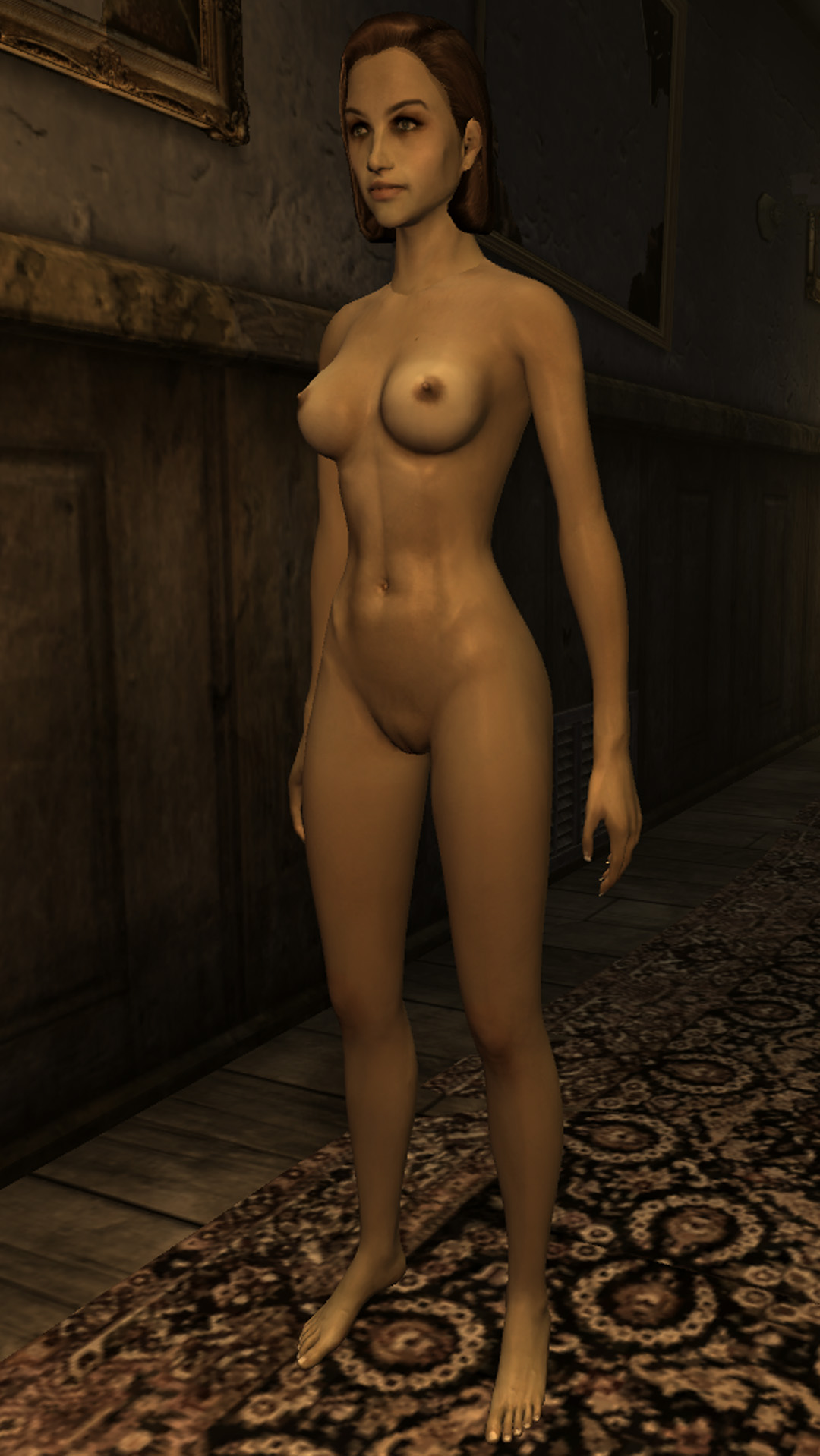 Fallout 3 girl killing and naked nackt scene