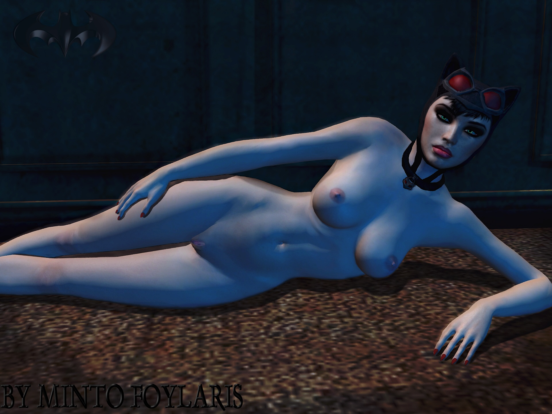 Batman arkham city naked women mod erotic clip