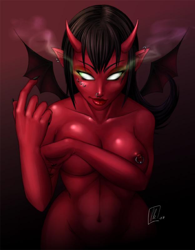 фото голых демонесс