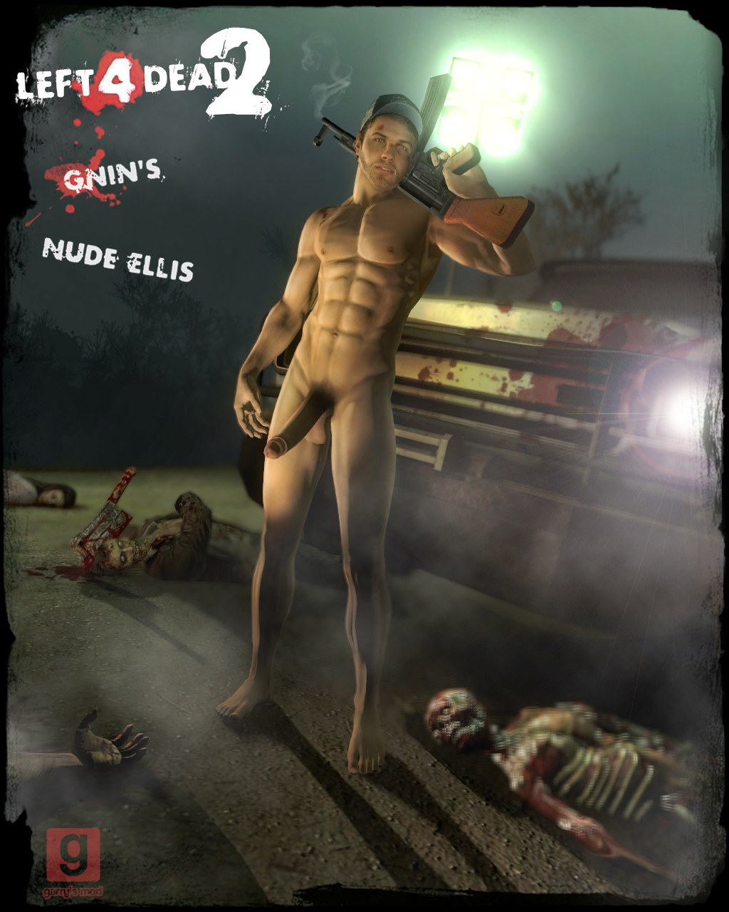 Ellis left for dead 2 3d gay  hentai scenes