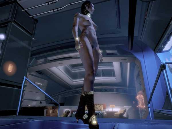 Порно мод на mass effect 2
