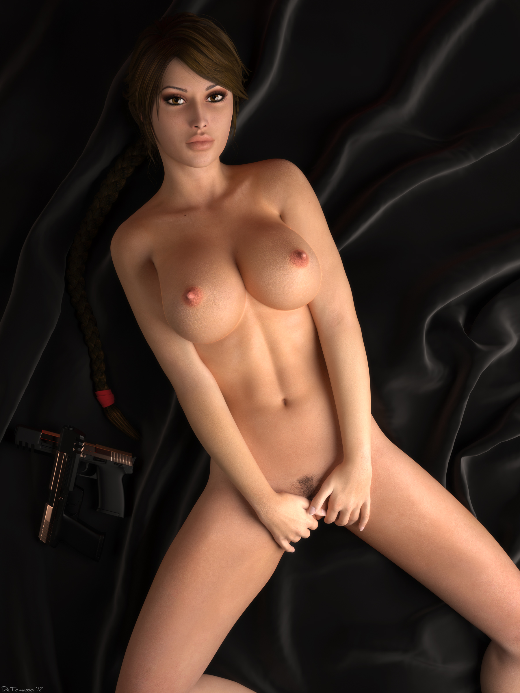 Lara croft nude mods anime film