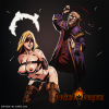 Обнаженная Мародерша (Grave Robber), игра Darkest Dungeon