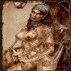 Голая Изабелла, спутница главного героя в Dragon Age II