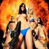 Голые девушки в косплее на тему игры Duke Nukem Forever