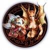 Персонажи компьютерной игры Sacred Underworld: Гном и Демонесса