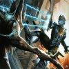 Столкновение Айзека Кларка с некроморфом (игра Dead Space)