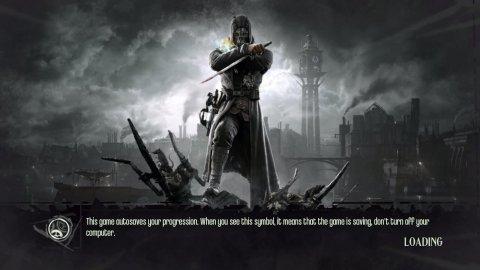 Dishonored загружается...