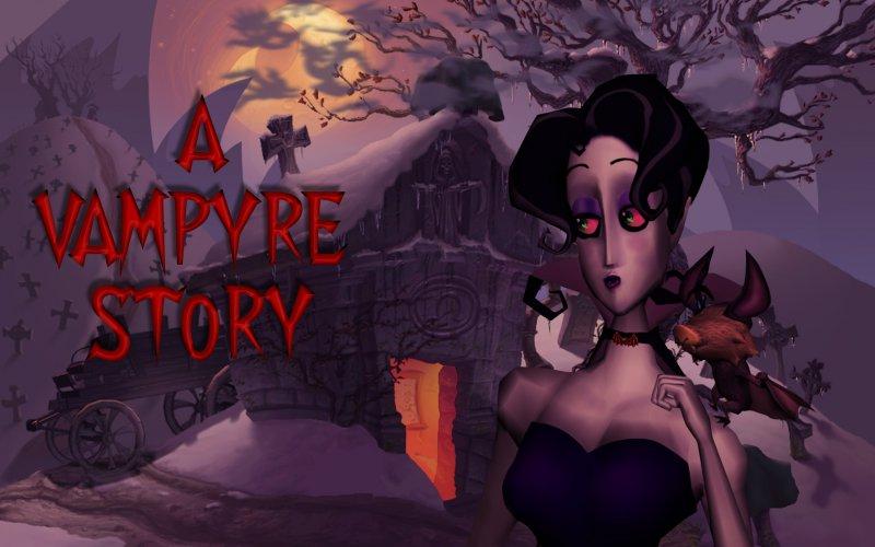 Mona De Lafitte, A Vampyre Story protagonist
