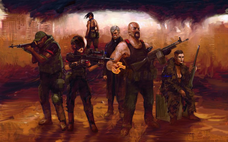 Отряд «Иерихон» (Clive Barker's Jericho)