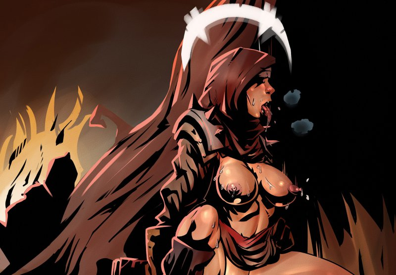 Обнаженная Монахиня (Darkest Dungeon)