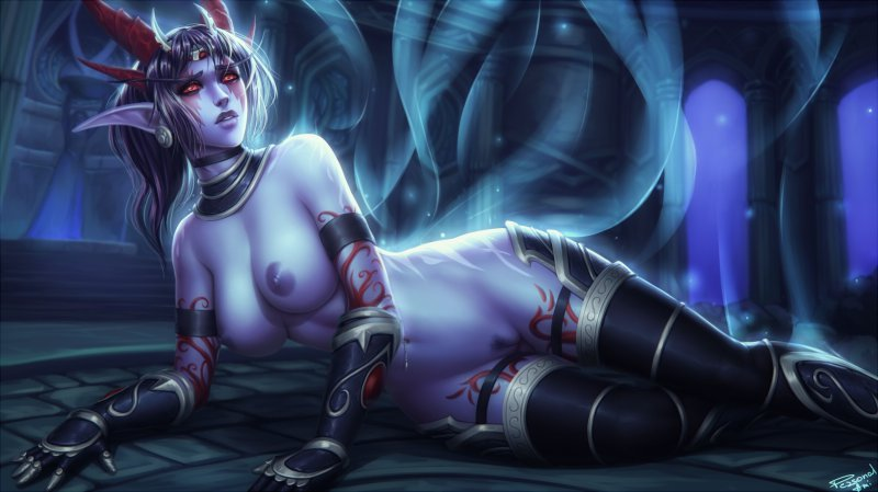 Обнаженная девушка (Hearthstone: Heroes of Warcraft)