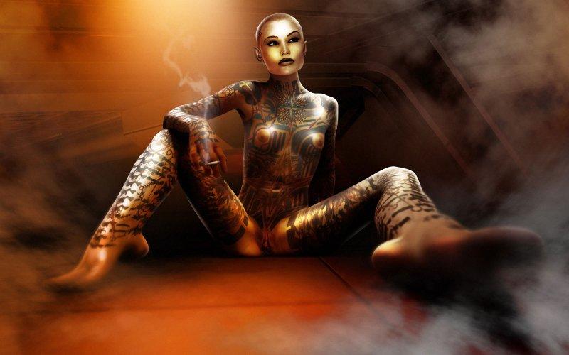 Обнаженная Джек (Mass Effect 3)