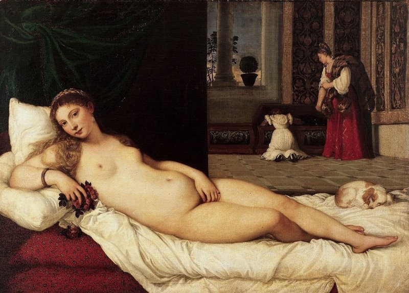 The Venus of Urbino, Titian (picture of the period of action in Kingdom Come: Deliverance)