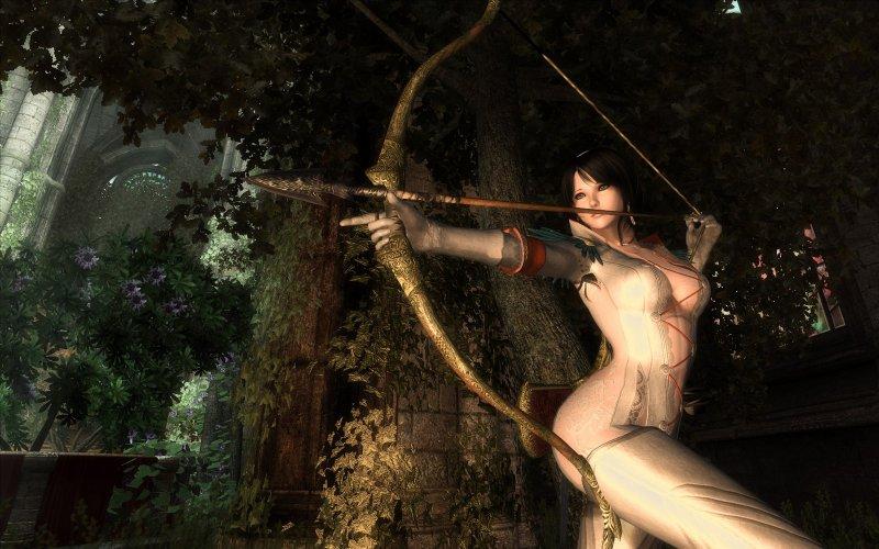 Полуобнаженная девушка (The Elder Scrolls IV: Oblivion)