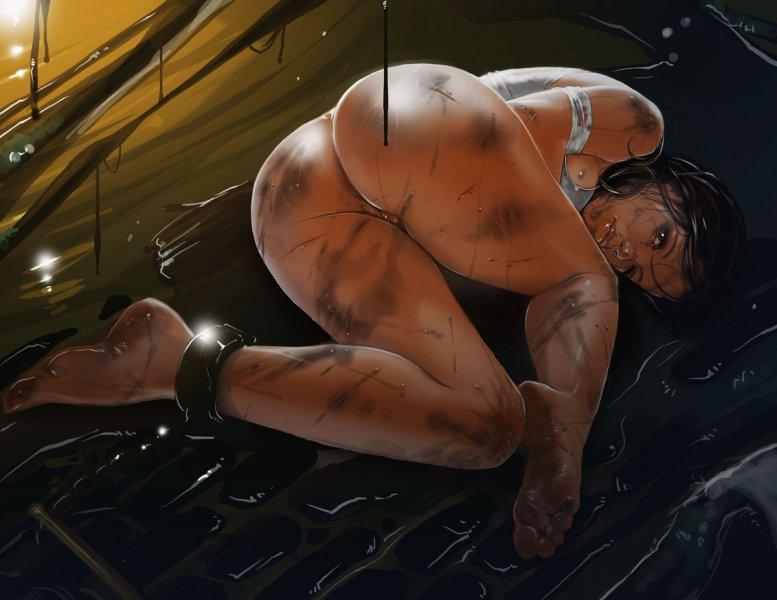 Обнаженная Лара Крофт (Rise of the Tomb Raider)