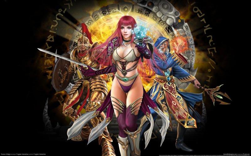 Герои игры Runes of Magic